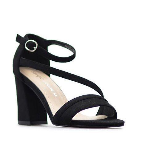 Sandały Sergio Leone SK821-01M Czarne, kolor czarny