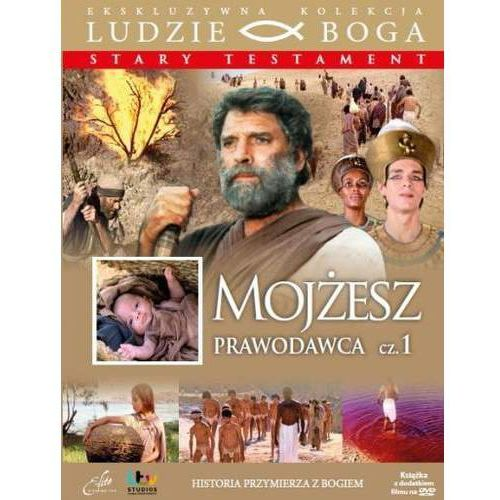 Praca zbiorowa Mojżesz prawodawca cz. 1 + film dvd (9788362377596)