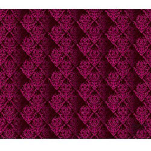 Fototapeta Tradycyjne kwiatowe wzory – różowe na czarnym tle 1460, 1460
