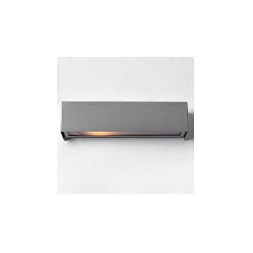 Lampa ścienna LINE WALL LED S - srebrny
