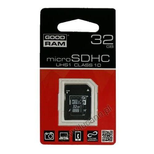 Goodram Karta pamięci microsd 32gb cl10 uhs-i