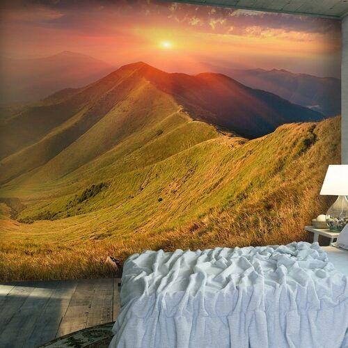 Fototapeta - piękny jesienny krajobraz, karpaty marki Artgeist