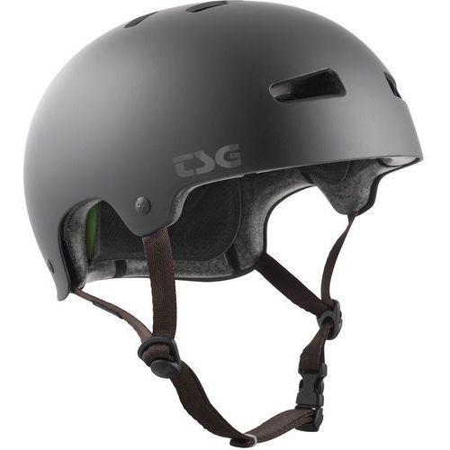 Tsg kraken solid color kask rowerowy, satin black l/xl | 57-59cm 2019 kaski bmx i dirt