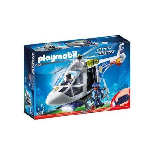 Playmobil Helikopter policyjny z reflektorem led 6921 - darmowa dostawa od 199 zł!!!