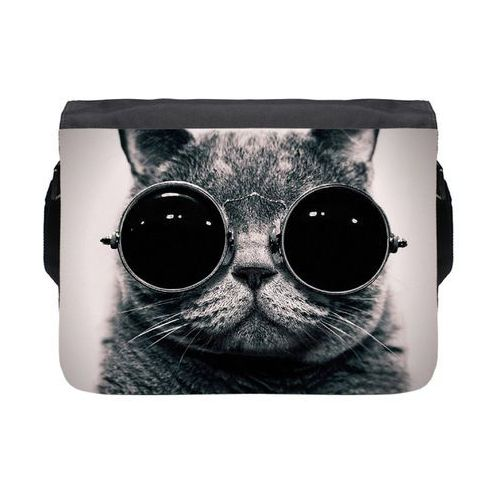 Torba na ramię duża lennon cat marki Megakoszulki