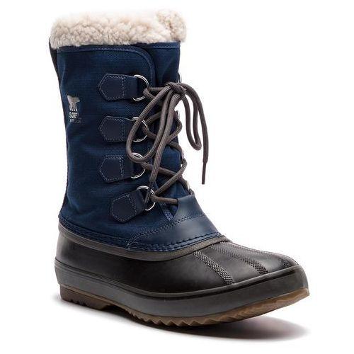 Śniegowce - 1964 pac nylon nm1440 collegiate navy/carbon 465, Sorel, 40-46