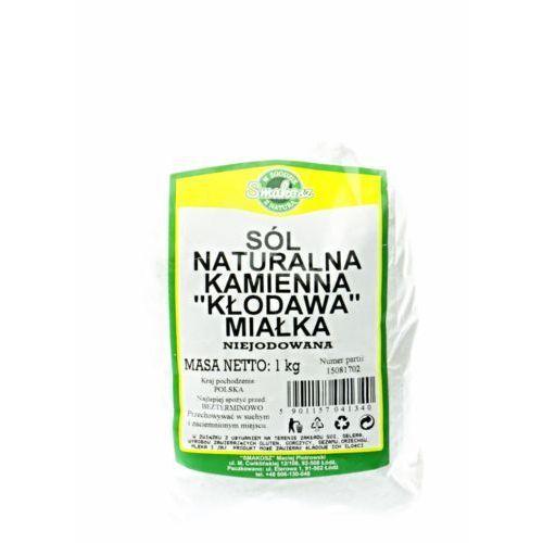 Sól kamienna naturalna miałka 1kg (5901157041340). Najniższe ceny, najlepsze promocje w sklepach, opinie.
