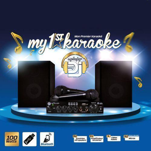Mydeejay zestaw my 1st karaoke bluetooth - dystrybutor mdj