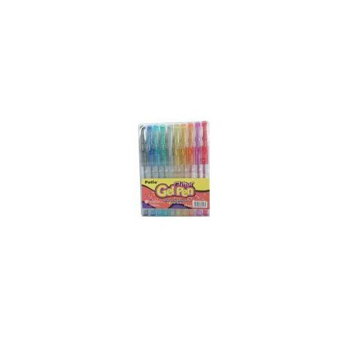 Długopis 10 kol.żel.brokat./patio/, 74204103819AP (4764737)