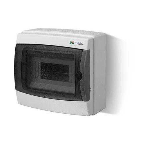 Rozdzielnica 1x8 natynkowa IP65 1602-01 Galant-Plus Elektro-Plast