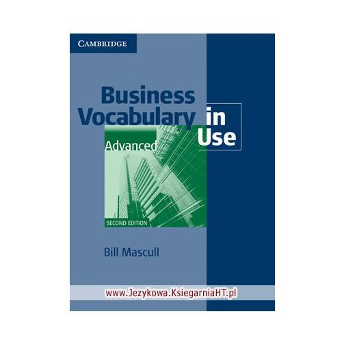 Business Vocabulary in Use Advanced (2nd Edition) with Answers (zi) (176 str.)