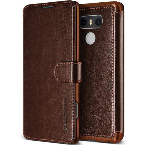 Vrs design Etui layered dandy lg g6 brown (8809477685374)
