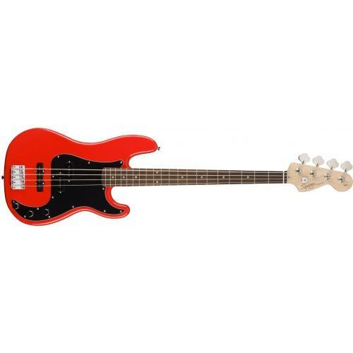 Fender affinity series precision bass laurel fingerboard race red gitara basowa