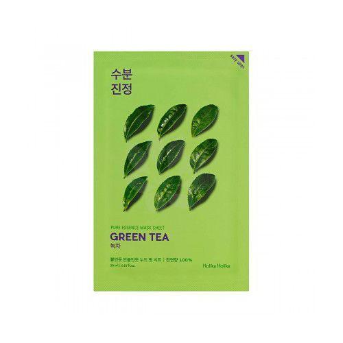 Holika holika  pure essence mask sheet - maseczka do twarzy green tea