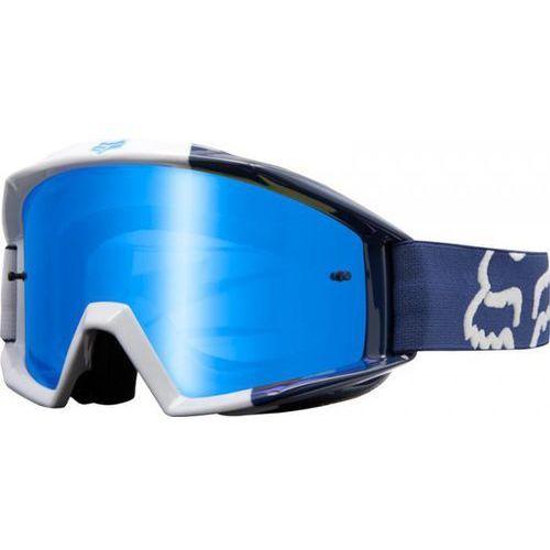 Gogle fox main mastar navy - szyba blue spark (1 szyba w zestawie) marki Fox_sale