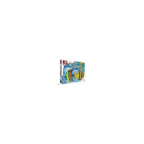 Toy kraft zdobienie cekinami - rybki (8906022395969)
