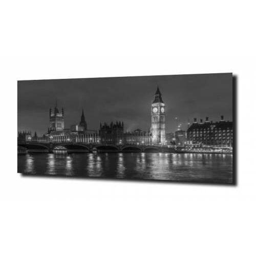 Obraz na szkle, panel szklany big ben nocą 120x60 marki Zahartowani.pl