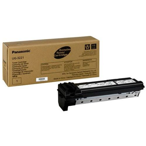 Wyprzedaż oryginał toner do faksów uf490 uf4100   6 000 str.   czarny black, pudełko otwarte marki Panasonic