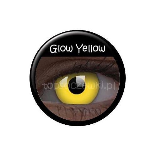 Crazy Glow w UV Yellow - 2 sztuki - produkt z kategorii- Soczewki kontaktowe