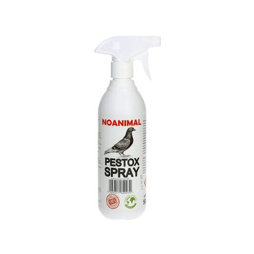 Zielona łapka Spray, preparat na ptaki. odstraszacz na gołębie, mewy, szpaki, wróble pestox spray 500ml. (5903317649939)