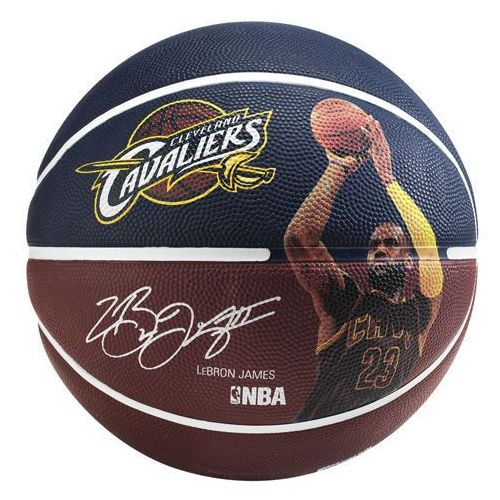 Piłka Spalding NBA Player Lebron James, 3001586010217