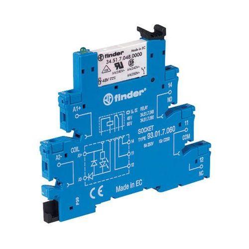 Przekaźnikowy moduł sprzęgający Finder 38.51.7.024.5050, 38.51.7.024.5050