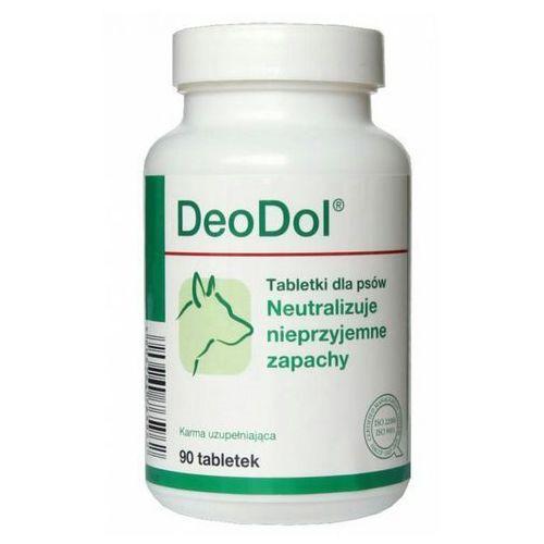 deodol preparat dla psów neutralizacja nieprzyjemnych zapachów, 90tabl., marki Dolfos