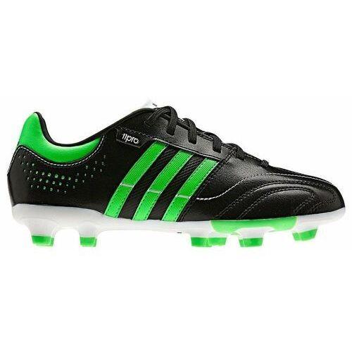 Buty piłkarskie adidas 11 NOVA TRX FG czarno-zielone - Czarno - zielony ||Biały ||Czerwony (2010000346358)