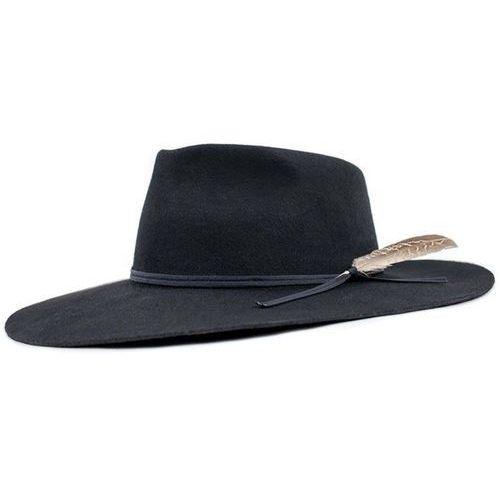 kapelusz BRIXTON - Topeka Fedora Black (BLACK) rozmiar: S