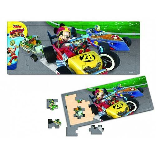 Układanka mickey and the roadster racers 21 marki Brimarex