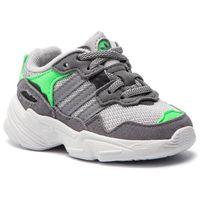 Buty adidas - Yung-96 El I DB2822 Gretwo/Grethr/Shopnk, kolor szary