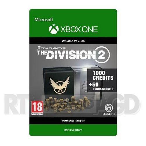 Tom Clancy's The Division 2 - Pakiet 1050 Kredytów [kod aktywacyjny] Xbox One (0000006201471)