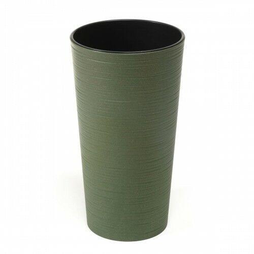 Donica Lilia ECO 25 cm dłuto zielona 105/174-2