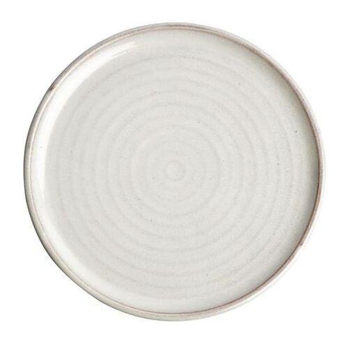 Olympia Okrągły talerz o wąskim brzegu murano biały 265mm canvas (zestaw 6 sztuk)