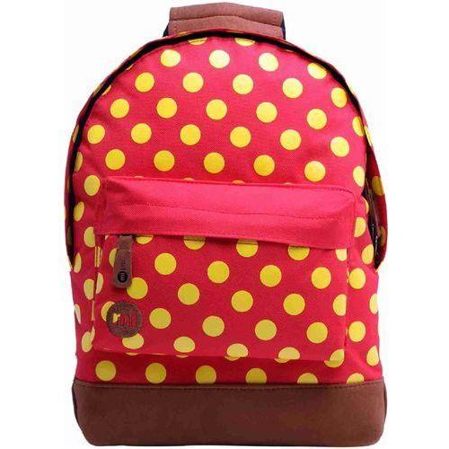 Plecak - mini all polka bright red/yellow (001) rozmiar: os marki Mi-pac