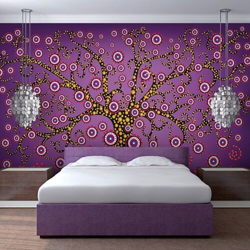 Fototapeta - abstrakcja: drzewo (fioletowy) marki Artgeist