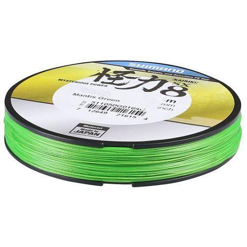 Shimano kairiki mantis green / 300m / 0,250mm / 21,0kg