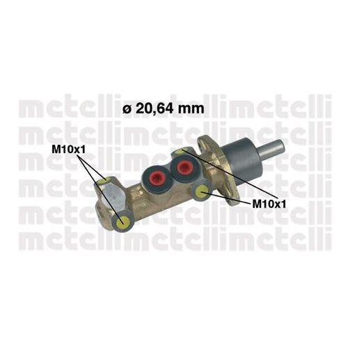 Pompa hamulcowa  05-0044 marki Metelli