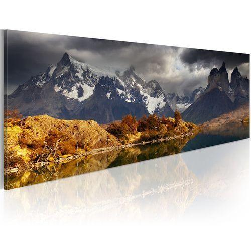 Obraz - mountain landscape before a storm marki Artgeist
