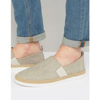 River island espadrilles in light grey - grey