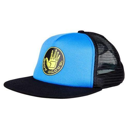 Czapka z daszkiem - core logo trucker hat royal/black (royal-black) marki Body glove