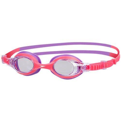 Speedo sea squad okulary pływackie dzieci różowy/fioletowy 2018 okulary do pływania