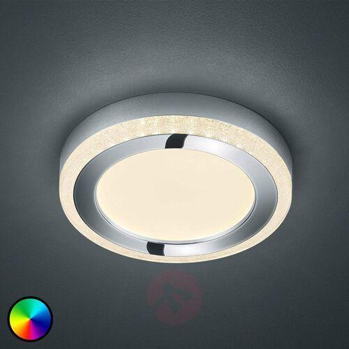 Lampa Sufitowa Reality SLIDE LED Biały, 1-punktowy, Zdalne sterowanie, Zmieniacz kolorów - Nowoczesny - Obszar wewnętrzny - SLIDE - Czas dostawy: od 3-6 dni roboczych, R62621106