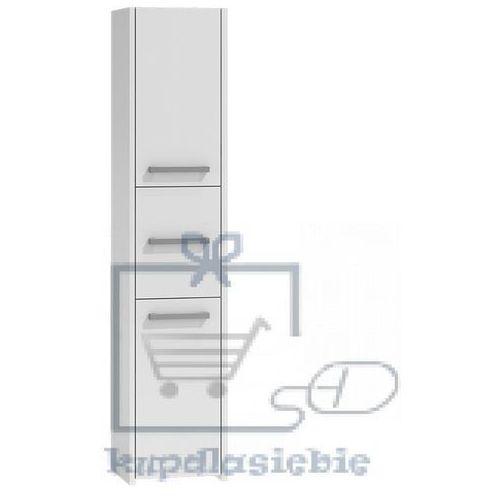 Szafka łazienkowa słupek Basu II 40cm Biały, TS-0396