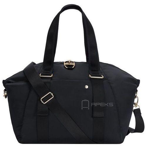 citysafe cx tote torba damska antykradzieżowa do ręki / na ramię / czarna - black marki Pacsafe
