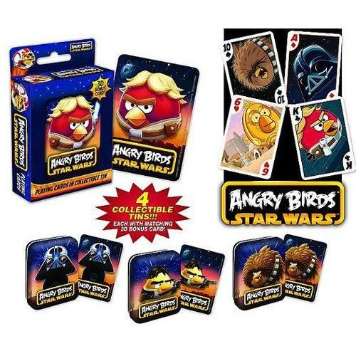 Cartamundi Karty Do Gry Angrybirds Star Wars 3d (gra karciana)