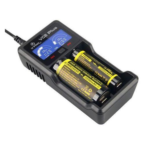 ładowarka do akumulatorów cylindrycznych Li-ion 18650 Xtar VC2 PLUS, VC2 MASTER