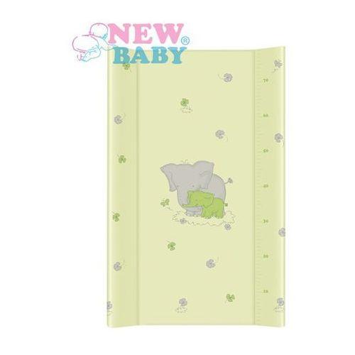 New baby Nadstawka na łóżeczko  słonik 50x80 cm zielona