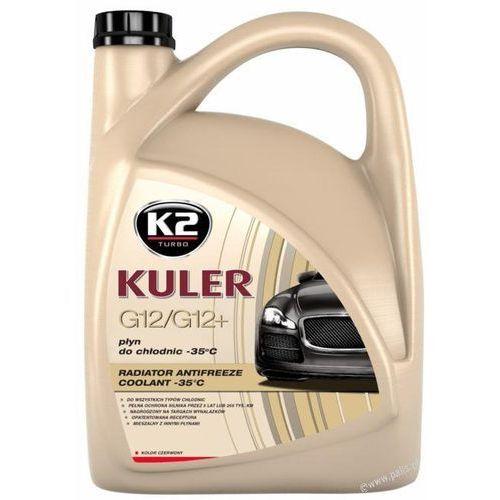K2 Płyn do chłodnicy g12 kuler czerwony -35c  5 litrów 5 lat bez limitu km k2t205c (5906534005922)