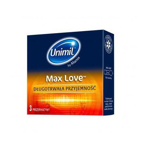 Unimil max love (1op./3szt.) marki Unimil (pol)